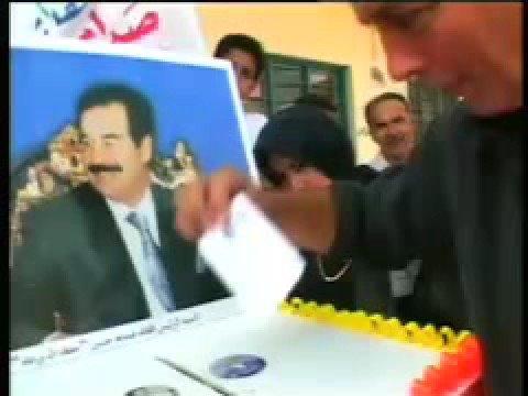 Saddam 'wins 100% of vote'