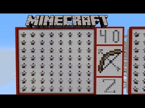 Map d'entrainement PvP Minecraft ➜ Invention redstone