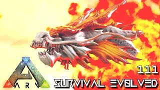 ARK: SURVIVAL EVOLVED - MYTH DRAGON SNAKE & KING MAMMOTH E111 !!! ( ARK EXTINCTION CORE MODDED )