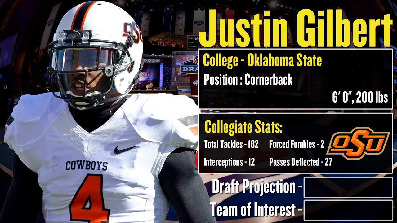 2014 nfl draft profile justin gilbert strengths and