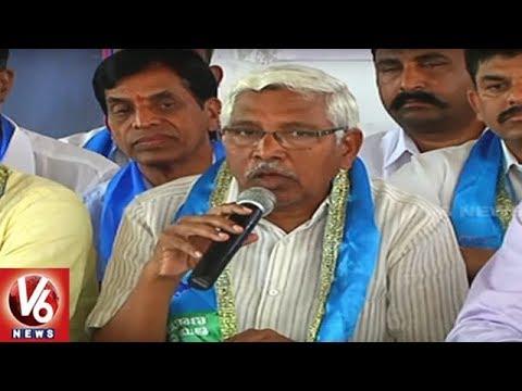 Prof Kodandaram Speech : Telangana Jana Samiti To Participate In Grama Panchayat Elections | V6 News
