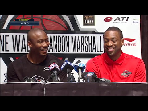 Kid asked Dwyane Wade why he flops