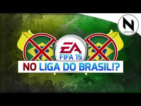 FIFA 15 - Liga do Brasil removed from FIFA 15
