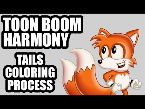 Sonic & Tails In Toon Boom Harmony (livestreaming Test) video