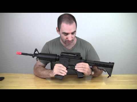 Airsoft Review Well M4 Gas Blowback