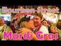 🍻EP 3 Bourbon Street Mardi Gras 🎭French Quarter of New Orleans 📿Fat Tuesday Louisiana LA 🥂Festival
