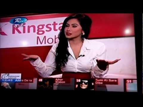 Bold & Sexy Alisha Pradhan Live Interview  Jege Acho Ki With Porshi video