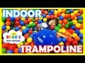 Gaint Balls Pit Huge Indoor Playground Bounce House Kids Play...