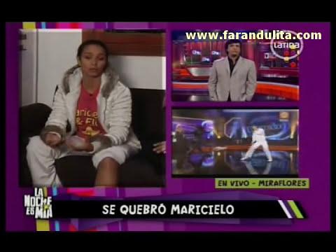 La Noche Es Mia 19-09-2011 Maricielo Effio: No estoy fuera de
