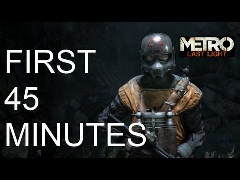 Metro Last Light - First 45 Minutes HD [Maxed Out] (PC)