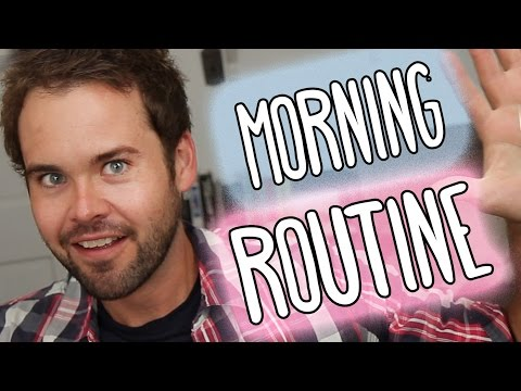 If Guys Made Youtube Videos Like Girls: Morning Routine video