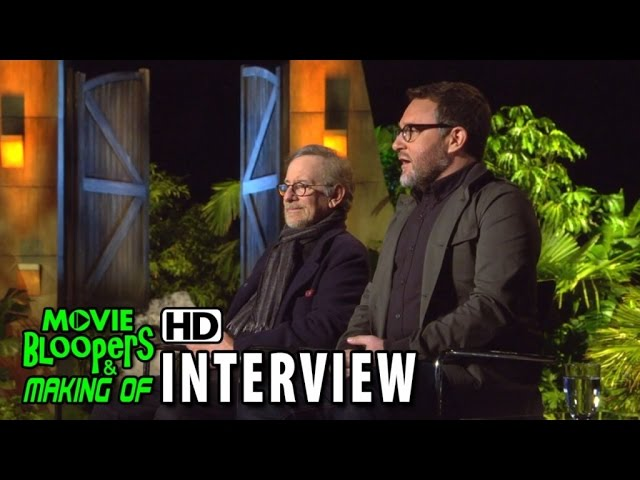 Jurassic World (2015) Behind the Scenes Movie Interview - Colin Trevorrow & Steven Spielberg