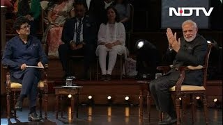 Watch: PM Modi's Q&A Session In London With Prasoon Joshi