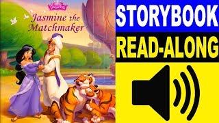 Aladdin - Disney Princess Read Along Story book   Read Aloud Story Books for Kids
