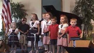 Carlson Cousins Singing Onward Christian Soldiers at Monroe