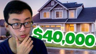MUA NHÀ TRỊ GIÁ $40.000 !!! | House Flipper