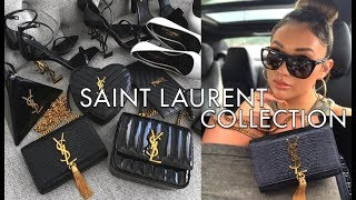 MY ENTIRE YSL SAINT LAURENT COLLECTION 2019 | hollyannaeree