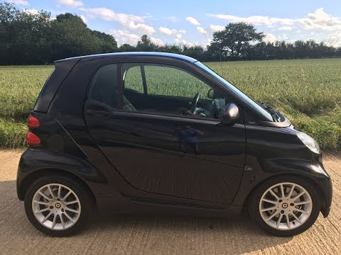 2009 SMART CAR FORTWO PASSION 0.8 CDI DIESEL VIDEO REVIEW