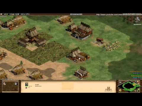 Aoe2 Hd: 3v3 Oasis (mongols, Scout Rush) (7 11 13) video
