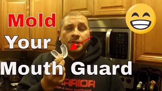 How to Mold a Mouthguard
