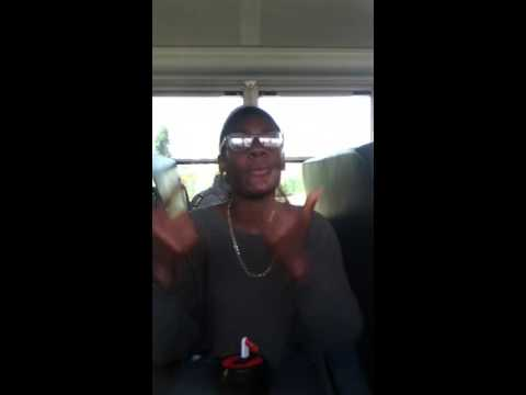 YG IMA real 1 remix of a girl In the ghetto bus