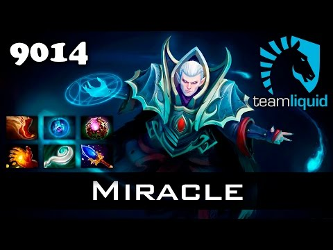 Miracle Invoker - 9014 MMR Ranked Dota 2