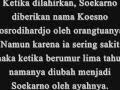 tugas biografi Soekarno (EKO)