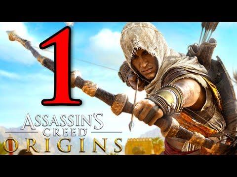 ASSASSIN'S CREED ORIGINS [Walkthrough Gameplay ITA HD - PARTE 1] - BAYEK di SIWA (NUOVA SERIE)