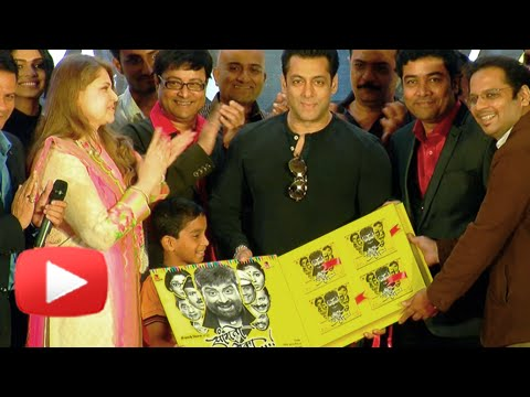 Salman Khan At Sanngto Aika Music Launch - Upcoming Marathi Movie - Sachin Pilgaonkar video