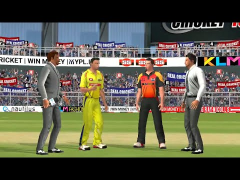 13th May IPL 11 Chennai Super Kings Vs Sunrisers Hyderabad Real cricket 2018 mobile Gameplay