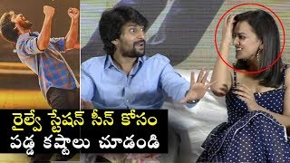 #Nani Explain Behind Story of Railway Station Scene In #Jersey Movie | Jersey Team Interview