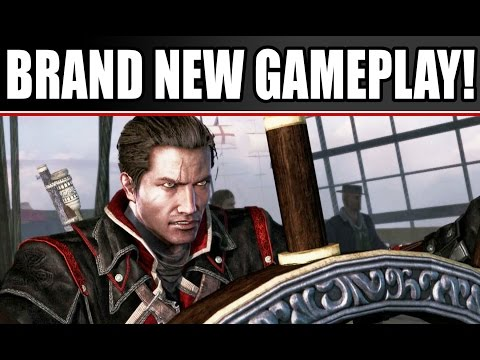 Assassin's Creed Rogue New Gameplay: Walkthrough of Open World Side Missions PS3 Xbox 360 PC