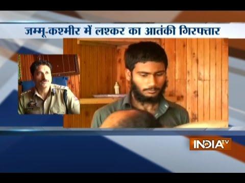 Security Forces Arrested Lashkar Commander from Kupwara Sector in Jammu and Kashmir