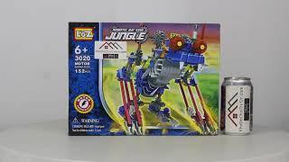 Mở hộp Loz 3020 Lego Jungle Robots Electric Bat Beast Robot giá sốc rẻ nhất