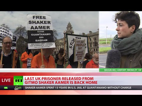Finally at large: Shaker Aamer freed from Guantanamo, coming home