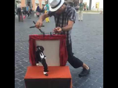 Michael jackson Puppet dance