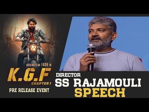 Director SS Rajamouli Superb Speech @ KGF Movie Pre Release Event