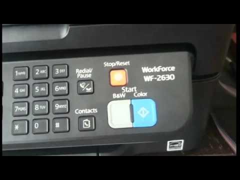 Reseteo y recomendaciones Epson WF-2630 sistema de tinta continua