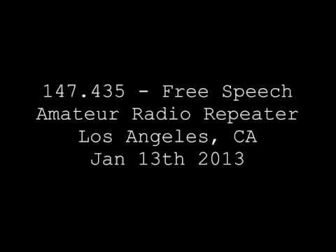 147.435 - Free Speech Amateur Radio Repeater