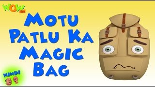 Motu Patlu Ka Magic Bag - Motu Patlu in Hindi - 3D Animation Cartoon for Kids -As on Nickelodeon