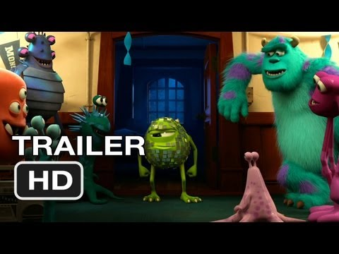 Monsters University Official Teaser #1 (2013) Monsters Inc Prequel Pixar Movie HD
