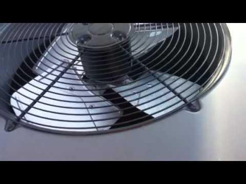 Goodman Condenser Fan Motor Replacement Pt3 Youtube