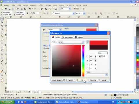 Aplicando o efeito Transparência no Corel Draw X5