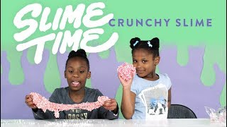 Kids Crunchy Slime | Slime Time | HiHo Kids