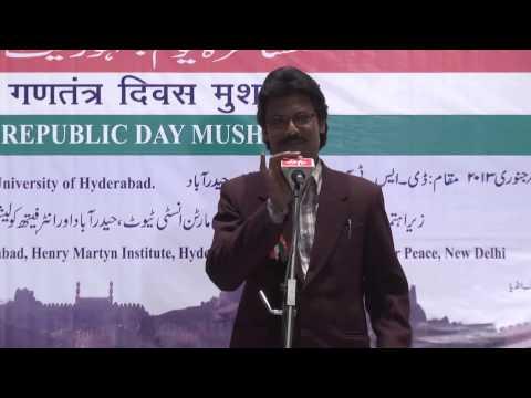 Republic day Mushaira Part 1 @ UoH2013