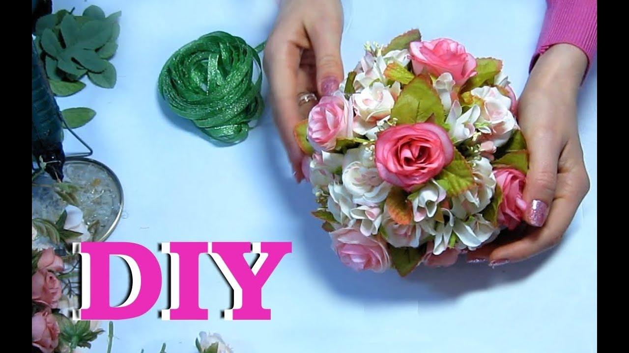 Как своими руками сделать искусственные цветы 100