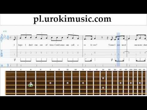 Nauka Gry Na Gitarze Justin Bieber - Sorry Nuty Poradnik Część 2 Um-i463