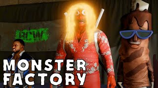 The one where they actually play WWE2K20 | Monster Factory