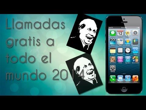 Hacer llamadas gratis a todo el mundo en iPhone/iPad 2014