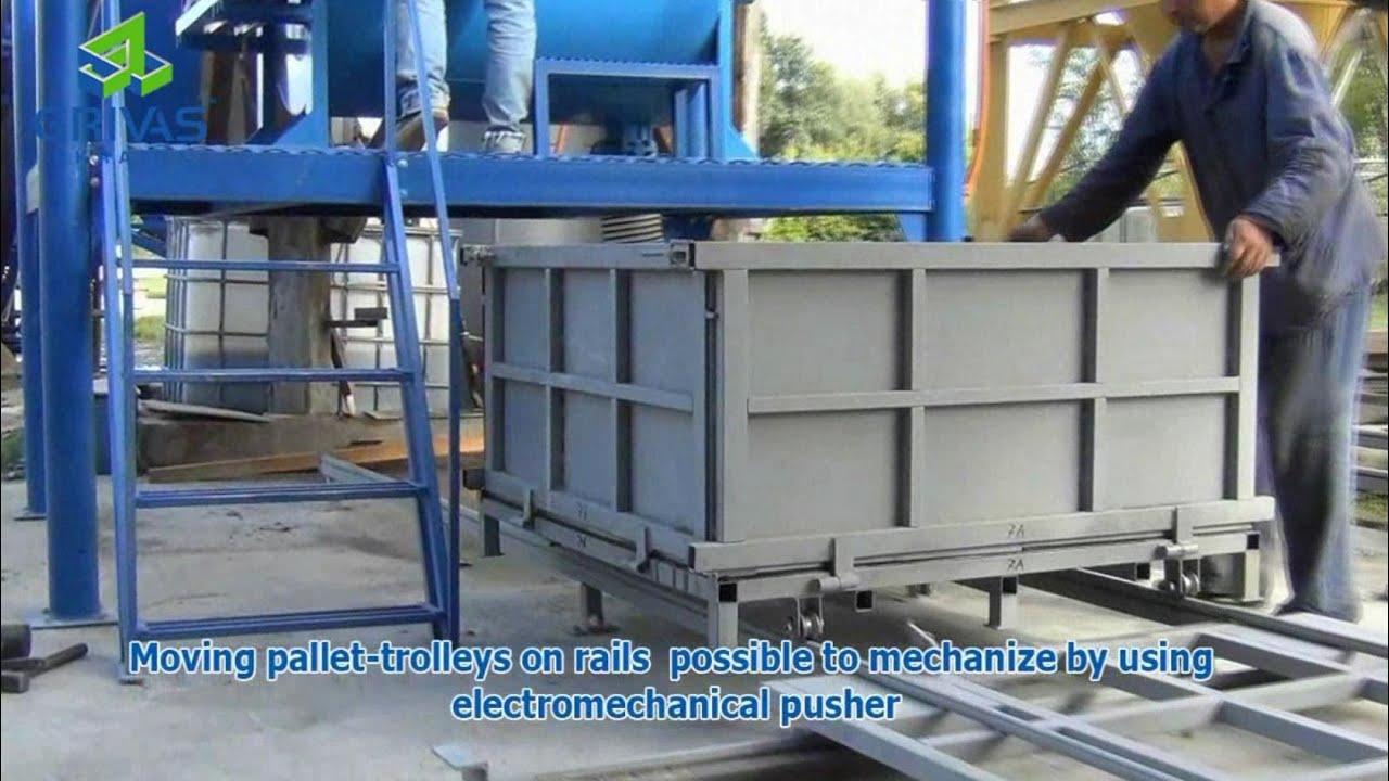 Production From Foam Concrete Blocks Clc Blocks On